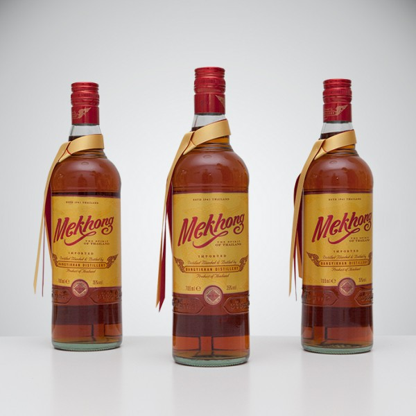 3er Paket Mekhong Whisky 700ml